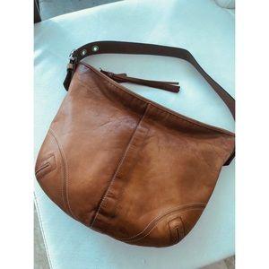 Coach Large Hobo Leather Bag